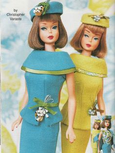 """""""FASHION EDITOR lime version"""", Barbie Bazaar Magazine, Design by Marirose Design. Article and photography by Christopher Varaste."""