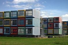 Stacking Students | La Capanna container student housing in … | Flickr
