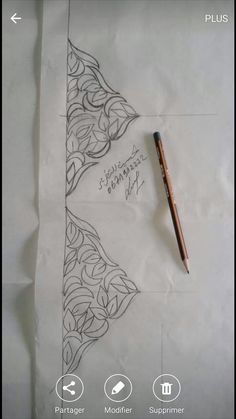 Hand Embroidery Videos, Hand Embroidery Designs, Embroidery Patterns, Eid Photos, Cutwork Blouse Designs, Simple Borders, Turkish Art, Button Crafts, Border Design