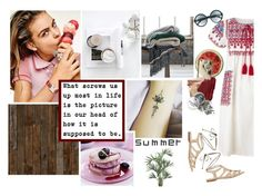 """""""'The real man smiles in trouble, gathers strength from distress, and grows brave by reflection'. Thomas Paine"""" by patienceisavirtue ❤ liked on Polyvore featuring Star Mela, Intermix, NLXL, Round Towel Co., Skinnydip, Bobbi Brown Cosmetics, H&M, Tom Ford and Nearly Natural"""