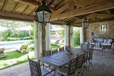 7 bd, farmhouse, terrace, pool
