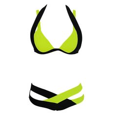 Women's Fashion Patchwork Bikini