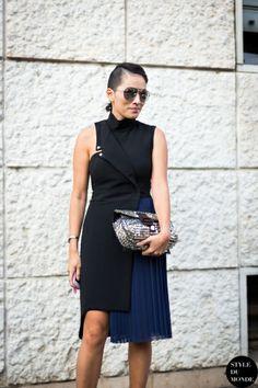 STYLE DU MONDE / Milan FW SS2014: Tina Leung  // #Fashion, #FashionBlog, #FashionBlogger, #Ootd, #OutfitOfTheDay, #StreetStyle, #Style