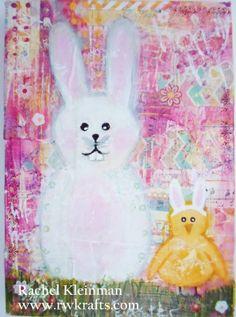 RWKrafts: Easter Inspiration Hop - A Whimsical Painting Easter Projects, Easter Crafts, Craft Projects, Pikachu, Whimsical, Crafty, Fun, Painting, Inspiration