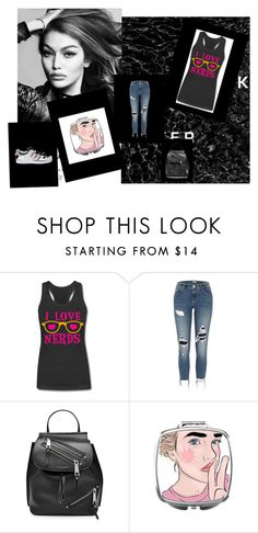 """""""she's the one that got away"""" by prplbtrfly ❤ liked on Polyvore featuring River Island, Marc Jacobs and adidas"""