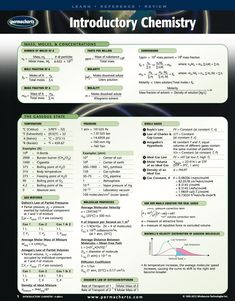 Buy or Rent Introductory Chemistry - Quick Reference Guide as an eTextbook and get instant access. With VitalSource, you can save up to compared to print. Molar Mass, Crop Protection, Fractions, Chemistry, Learning, Teaching, Studying