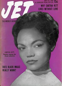 Eartha Kitt Shuns Romances - Jet Magazine, May 20, 1954