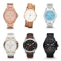 Show your style with our new Fossil watches starting at just $85!