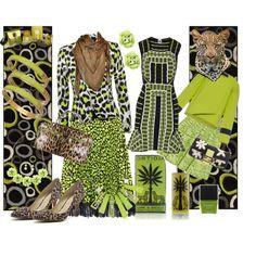 Lime leopard