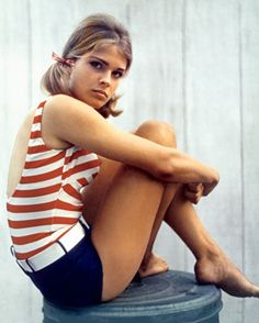 Summer inspiration from a young Candice Bergen.