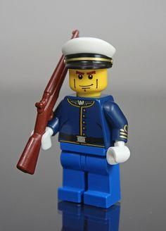 USMC Dress Uniform - Perfect for the Lego Loving Military Brat in your life! - MilitaryAvenue.com