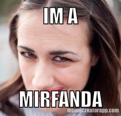 a fan of Miranda. Maranda Sings, Colleen Miranda, Famous Youtubers, Funny Memes, Jokes, Youtube Stars, Back Off, Queen, Animal Quotes