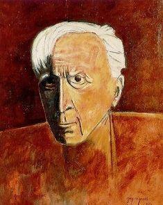 Georges Braque, Self Portrait on ArtStack #georges-braque #art