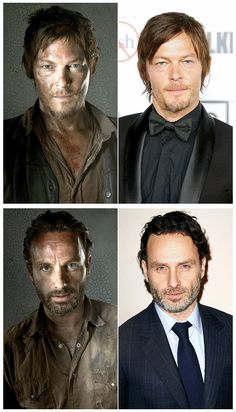I'm sorry...Andrew Lincoln is very good looking, but Norman Reedus is sexy in the most hardcore way.