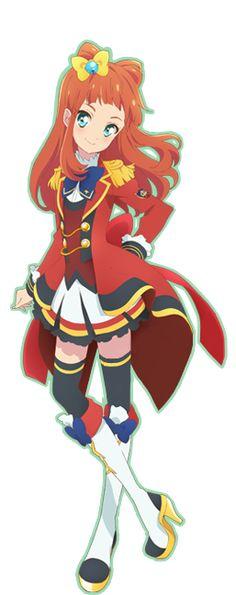 Aikatsu Stars! Ako in her S4 uniform