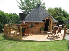 Pictures of Log Cabins, Garden Offices and other Timber Buildings