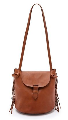 Madewell Fringe Bucket Bag