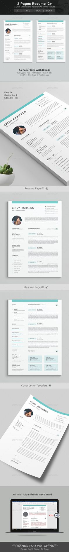 120 best Resumes images on Pinterest in 2018 Interview, Resume