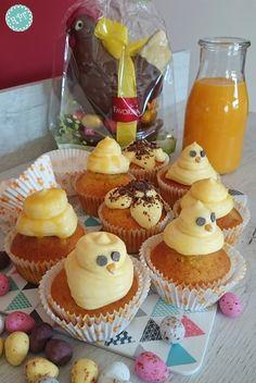 Recetas ParisFinas: Cupcakes de Pascua (Vainilla y Mango)