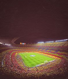 Barcelona- Watch Football at Camp Nou.