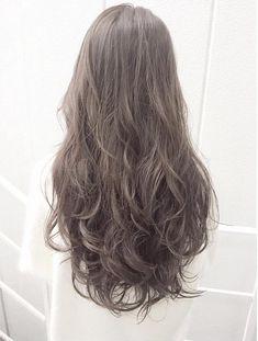Long Ash Hair