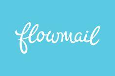 Flowmail Logotype Process by Neil Secretario, via Behance