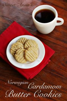 One of my all-time favorite cookies growing up was my grandma's Sandbakkelse (Norwegian Almond Butter Cookies).   If there wasn't a fresh batch on the counter, you could always count on a bag or two hiding in the freezer in the basement. She was known (around the world!) for them.  And hot out of the …