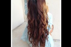 Long Curled Hair