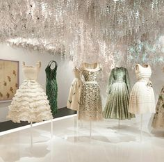 Dior's exhibition in Paris, with over 300 haute couture gowns by each of the houses's creative directors from 1947 to present