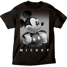 Disney Mens T Shirt Mickey Mouse Photo Real, Black, http://www.amazon.com/dp/B00BSAB0E6/ref=cm_sw_r_pi_awdl_Af6Gsb07N6JRF