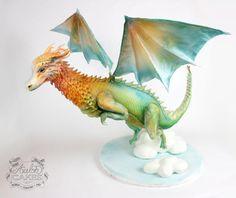 Fantasy Dragon by Avalon Cakes School of Sugar Art
