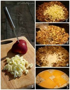 Φιλέτο κοτόπουλο και σάλτσα με μανιτάρια και μήλα ⋆ Cook Eat Up! Macaroni And Cheese, Kai, Breakfast, Ethnic Recipes, Food, Morning Coffee, Mac And Cheese, Essen, Meals