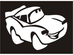 Plantilla Cars 01 - Lightening McQueen