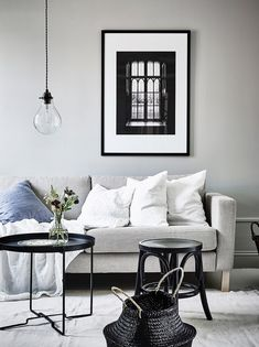 Lastest Home Design. Try These Useful Ideas For Home Improvement. You don't want a house that is structurally unsafe or filled with inferior home improvement work. Living Room Interior, Living Room Decor, Living Spaces, Living Room Scandinavian, Scandinavian Interior, Scandinavian Style, Living Room Inspiration, My New Room, Home And Living