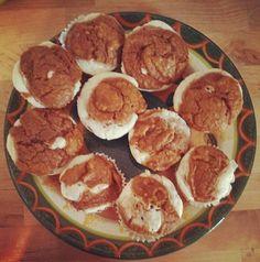 60 calorie pumpkin cream mini cakes! @ladynym10