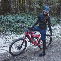 MTB Winter riding outfit