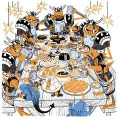 My third weekly drawings for Wacom DrawCember Challenge. Art Portfolio, Botanical Illustration, Goblin, Winter Christmas, Artsy Fartsy, Cover Art, Art Inspo, Digital Art, Character Design