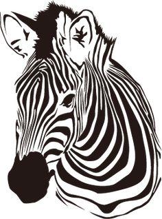 しまうまのかっこいいウォールステッカー 【壁紙のデコシールでインテリア】 Zebra Kunst, Zebra Art, Giraffe Art, African Crafts, Book Folding Patterns, New Sticker, Stencil Painting, Art Graphique, Op Art