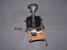 90-96 Nissan 300zx OEM Black Automatic Transmission Shifter Assembly