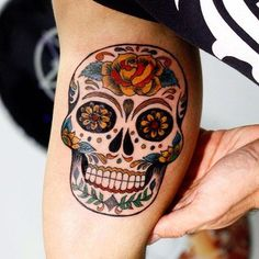 Best Of Mexican Sugar Skull Tattoos Calavera Ink Ideas 30 Ideas On Pinterest Skull Tattoos Sugar Skull Tattoos Mexican Sugar Skull