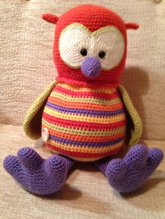 Amigurumi Owl from a Stip and Haak pattern