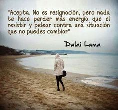 Dalai Lama quote // Frase Superación. Reflexión. Vida.