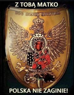Zdzisław Małek added a new photo. Polish Tattoos, Mother Mary, Sacred Art, Virgin Mary, Eagles, Catholic, Faith, Pictures, Homeland