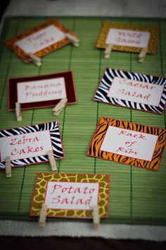 cute tags...could be used for candy jars