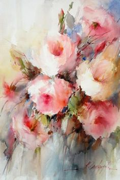 Fábio Cembranelli, Roses, 22 x 15 inches, 750,– €