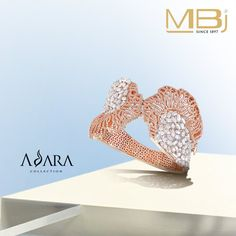 Diamond Cuff from Adara collection of MBj.
