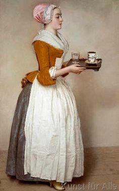 Jean-Etienne Liotard - Das Schokoladenmädchen