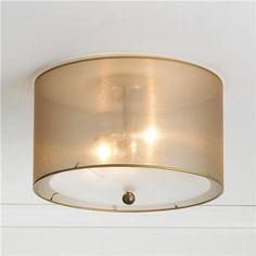 Shades of Light Sheer Elegance Organza Shade Ceiling Light