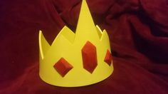 Check out this item in my Etsy shop https://www.etsy.com/uk/listing/262223139/ice-king-inspired-cosplay-crown-inspired