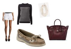 """""""Boat dock"""" by kat13c on Polyvore featuring Sperry Top-Sider, Alice + Olivia, Theory, Bebe and Ralph Lauren"""